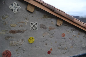 Carreaux en céramique pour extérieur et intérieur. Fais main, artisanal, peint à la main.