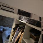 Tour de miroir en grès, fait sur mesure, artisanal.