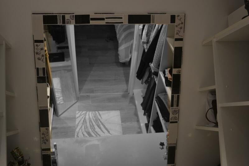 Fabrication de c ramique artistique en gr s ceramika maison for Encadrement pour miroir