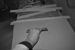fabrication plaque en terre pour carreaux