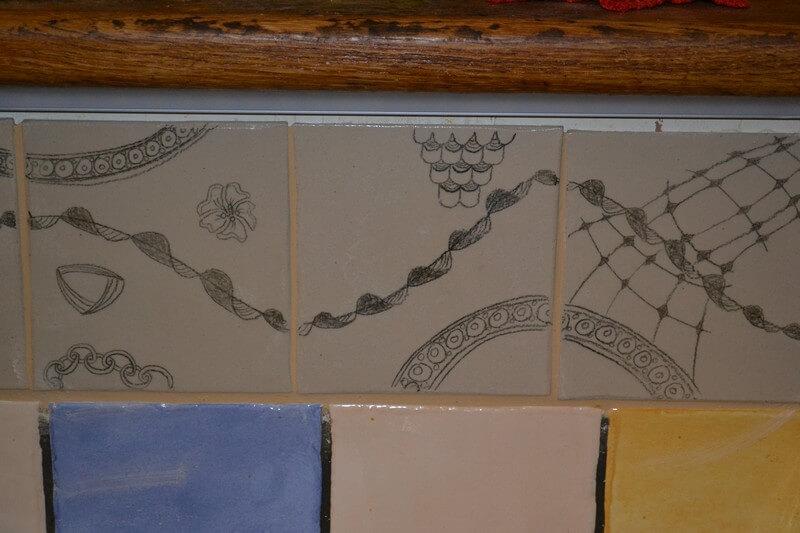 handgemachte fliesen waschbecken mosaiken. Black Bedroom Furniture Sets. Home Design Ideas