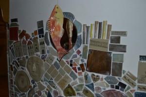 mosaïque artistique artisanal