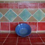 Handgemachte Küchenfliesen aus Keramik